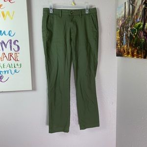 JCrew Army Green Chino Pants SZ 4